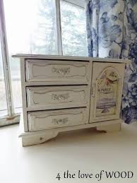 Shabby Chic Jewelry Armoire by 174 Best Upcycled Jewelry Boxes Images On Pinterest Cigar Boxes
