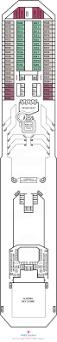 carnival sunshine floor plan carnival victory cabin 1066 category 8f balcony stateroom 1066