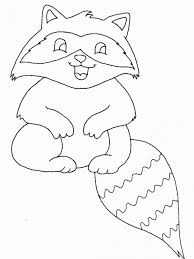 raccoon coloring pages fablesfromthefriends com