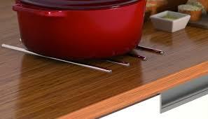 protege plan de travail cuisine protege plan de travail jeu 4 r glettes prot ge sc herrajes 9 g n