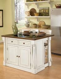 small kitchen islands with stools tucked away storage drawer white