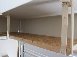 Wooden Storage Shelves Diy by Diy Garage Shelf Plans Home Decorations
