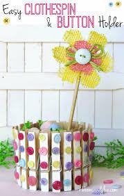 Decorative Clothespins Diy Decorative Clothespin Crafts Ribbons U0026 Glue