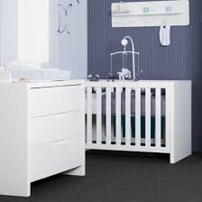 chambre bébé laqué blanc lit évolutif 70x140 glossy laqué blanc childwood 559 livraison
