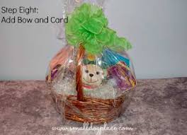 gift basket wrap puppy gift baskets how to make your own
