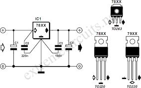 voltage regulators circuit diagram