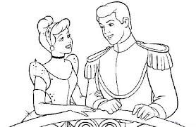 cinderella prince wedding cake coloring cinderella