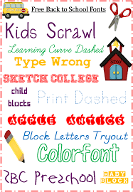 fonts free for back to blogging basics