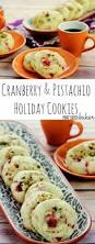 cranberry and pistachio sugar cookies