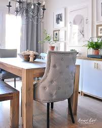 dining room end chairs simple dining room decor for a transitional season