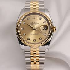 diamond rolex mens gold diamond rolex ebay