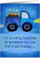 age specific birthday cards for grandson from greeting card universe