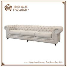 Linen Chesterfield Sofa by Natural Linen Long Chesterfield Sofa French Country Style