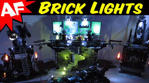 light brick sets batman sets with led brick lights youtube