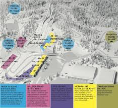 The Forest Map Stadium Map Lahti2017 Fis Nordic World Ski Championships