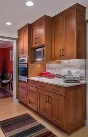 cherry shaker kitchen cabinet doors the brown kitchen cabinets cherry cabinets kitchen