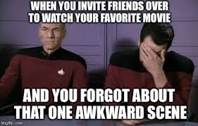 Animated Meme Maker - awkward moment when you invite friends over to watch your favorite