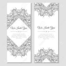 mehndi invitation cards set of cards with mandala ornamental frame indian mehndi east