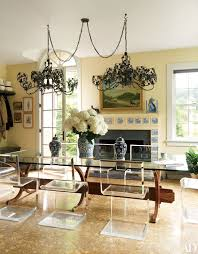how to decorate with lucite and acrylic furniture photos