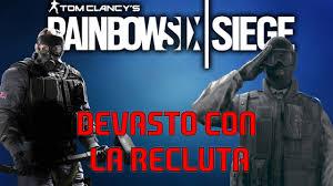 umiliamo tutti con la recluta rainbow six siege 1 youtube