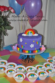 my pony cake ideas make a cake series my pony cake and rainbow cookies