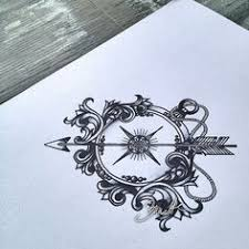 best 25 vintage compass tattoo ideas on pinterest compass