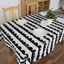 Party Tables Linens - sale cotton linen tablecoth geometic printed dinner table cloths