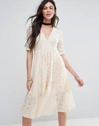 free people dixie lace soiree midi dress
