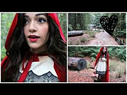 Red Riding Hood Halloween Costumes Red Riding Hood Diy Halloween Costume Cape