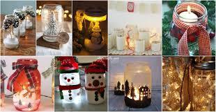 Diy Mason Jar Christmas Decorations by Magnificent Mason Jar Christmas Decorations You Can Make Yourself