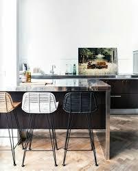 chaise pour ilot de cuisine la chaise de cuisine moderne en 62 photos inspirantes archzine fr