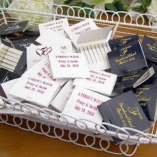 personalized wedding matches custom printed 30 strike wedding matchbooks