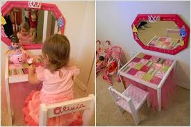 Little Girls Play Vanity 10 Super Cute Diy Ideas For Your Little Girls U0027 Room