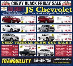 black friday car dealership js chevrolet is a tranquillity chevrolet dealer and a new car and