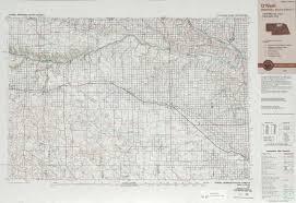 Sd Map O U0027neill Topographic Maps Ne Sd Usgs Topo Quad 42098a1 At 1