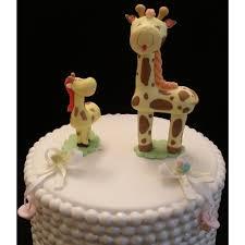 giraffe cake topper giraffe and baby cake topper baby giraffe giraffe
