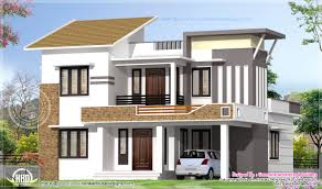 terrific simple kerala style home exterior design for house big