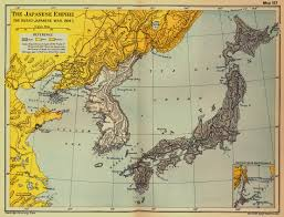 World War I Alliances Map by Historical Maps Of Japan