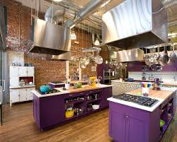 purple cabinets kitchen purple kitchen 14 creative ways to decorate a kitchen with purple