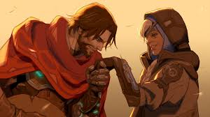 ana overwatch wallpapers ana and mccree overwatch wallpaper 22206