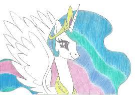 princess celestia colour mariobros64 deviantart