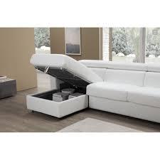 canape de luxe tony canapé d angle convertible 3 places 100 cuir de