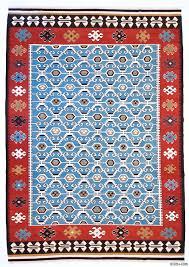 Kilim Area Rug K0004672 Light Blue New Turkish Kilim Area Rug