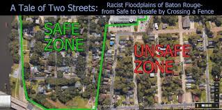Louisiana Flood Zone Map by Petticoat Despot August 2016