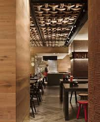 modern japanese style restaurant colour palette black red warm
