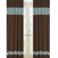 Green And Brown Curtains Blue And Brown Curtains Sarahdinkelacker