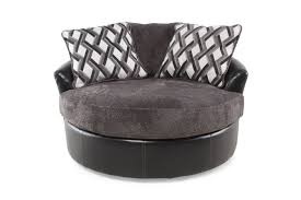 furniture beautiful white grey oversized swivel chair with