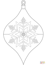 ball ornaments christmas coloring pages free large images inside