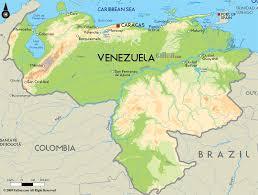 Map Of South America In Spanish by Venezuela Merk Zone