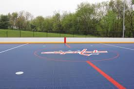 four street hockey rinks refurbished by the capitals are now open